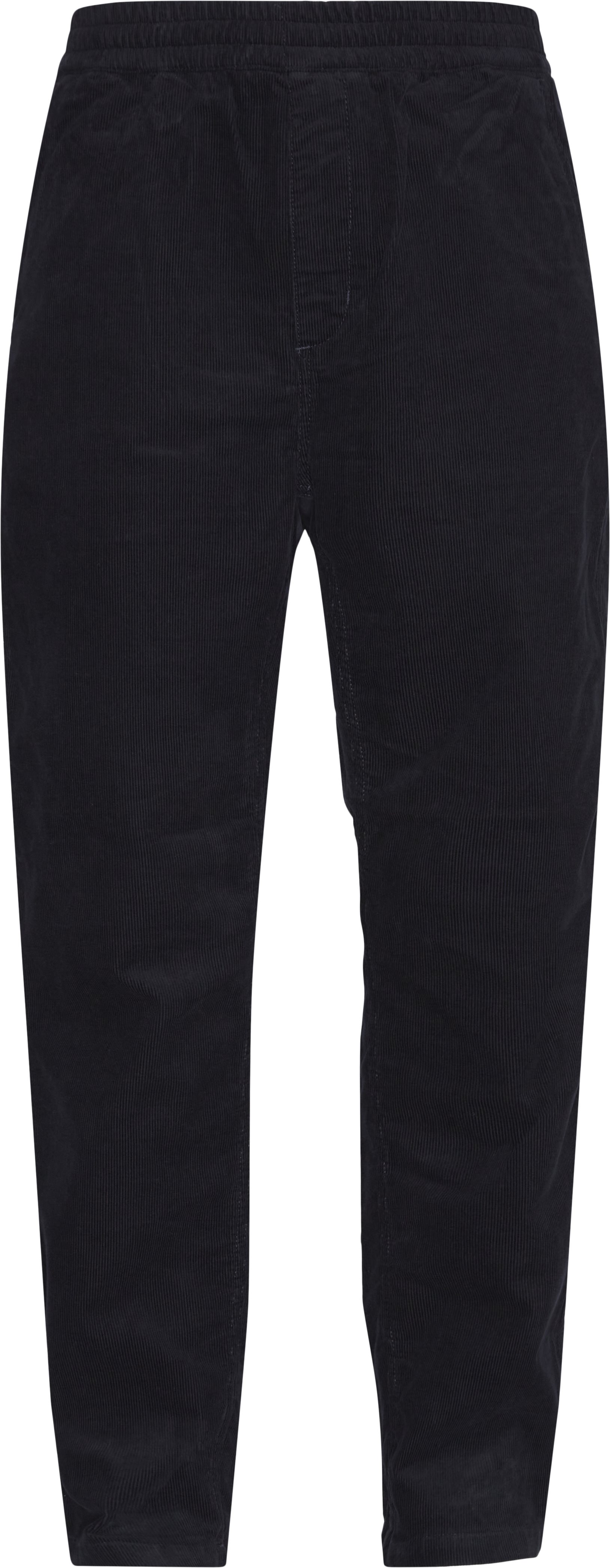 Trousers - Tapered fit - Blue